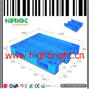 Heavy Duty HDPE Plastic Pallets with Strong Steel Tube Frame pictures & photos