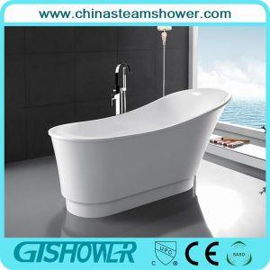 Elegant Acrylic Ovale Shape Bathtub (KF-725C)