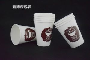 8-22oz Double Wall Coffee Cup with Single PE Coating pictures & photos