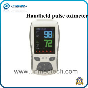 TFT LCD Display Handheld Pulse Oximeter (UN S1) /CE Approved pictures & photos