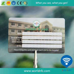 Hitag 2 PVC/Plastic Contactless ID Smart RFID Card for Hospital pictures & photos