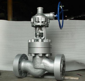 API Cast Steel Flanged Ends Globe Valve pictures & photos
