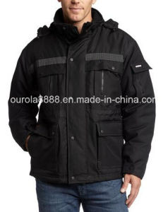 Mens Heavy Insulated Parka Jacket, Winter Jacket pictures & photos