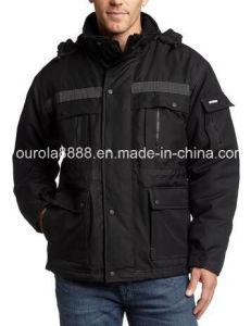 Mens Heavy Insulated Parka Jacket, Winter Jacket