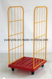 Powder Coating Heavy Duty Collapsible Roll Cage with Wheels pictures & photos