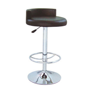 Popular Design Height Adjustable Black PU Leather Bar Stool (FS-411) pictures & photos