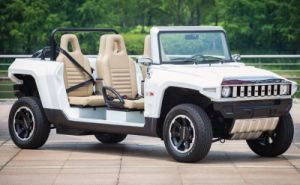 Marshell New Product Electric Hummer Cart with 2 Seater (HX-T) pictures & photos