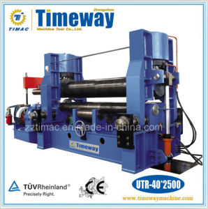 CNC Small Universal Three Roller Plate Rolling Machine (UTR-40*2500) pictures & photos