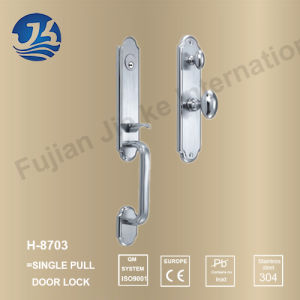 High Quality 304 Stainless Steel Door Lock (H-8703)