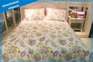 3PCS Polyester Bedspread Bedding Quilt pictures & photos
