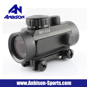 Airsoft 1X35mm Red DOT Sight Scope pictures & photos