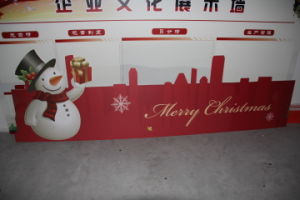 Custom Advertising PVC Foam Board Sheet Printing for Chiristmas pictures & photos