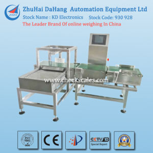 Automatic Checkweigher Machine with Push Reject System pictures & photos