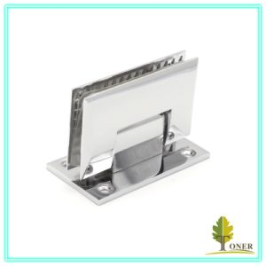 Zinc Alloy Shower Hinge/ 90 Degree Cambered Surface Hinge pictures & photos