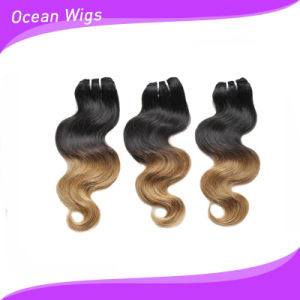 Ombre Color Brazilian Virgin Remy Hair Extension pictures & photos