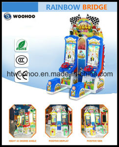 Indoor Playground Kids Racing Car Coin Operated Machine Simulator
