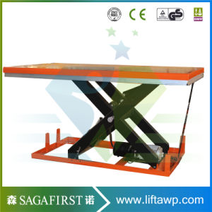 Super Ce ISO Approved Hydraulic Scissor Table Lift pictures & photos