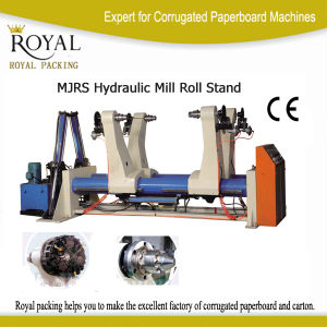 Two Support Roll Paper Stand Machine Hydraulic Mill Roll Stand pictures & photos