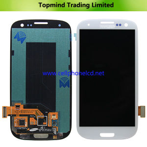 LCD Display with Touch Screen for Samsung Galaxy S3 Gt-I9300 White pictures & photos