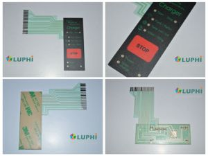 Backlighting Gold Plating Domes Membrane Switch (MIC-0207) pictures & photos