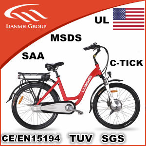 Women′s Electric City Bike 26inch pictures & photos