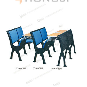 School Furniture, Painting Molded Framer Classroom Desk and Chair pictures & photos