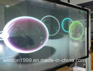 Self Adhesive Transparent Holographic Rear Projection Screen Film pictures & photos