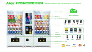 LCD Touch Screen Vending Machine/Snack Beverage Vending Machine Cooling pictures & photos