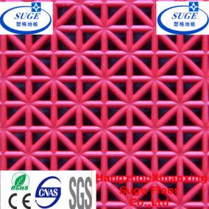 Anti-Oxidation Good PVC Interlocking Suspended Floor Tiles pictures & photos