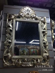 Hot Sales Resin Framed Wall Decorative Mirror Wholesale for Home Decoration pictures & photos