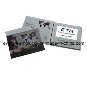 Newest 7inch LCD Screen Video Brochure pictures & photos