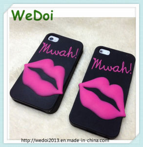 Popular iPhone Lip Cellphone Case for Lady (WY-PC01) pictures & photos