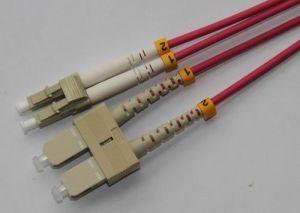 SC/UPC-LC/UPC-OM4-DX-3.0mm Fiber Patch Cord