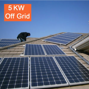 China 5kw off Grid Solar Power System Manufacurer pictures & photos
