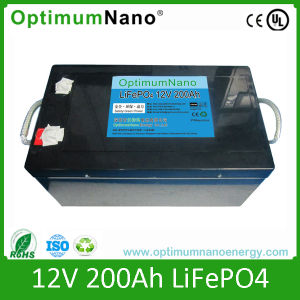 Deep Cycle 12V 200ah LiFePO4 Battery Solar Energy Storage Battery pictures & photos