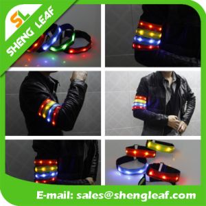Outdoor Safety Warning Reflective LED Sports Armband pictures & photos