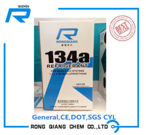 Tetrafluoroethane (R134A) Pure Refrigerant Gas with 99.9%Min.