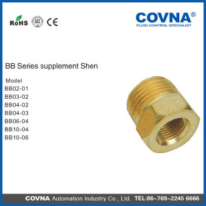 Bb Series Air Connector Pneumatic Fittings Brass Fittings pictures & photos