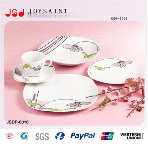 12PCS Square Shape Ceramic Dinnerware pictures & photos