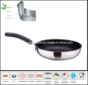 All-Clad 3ply Body Nonstick Fry Pan pictures & photos