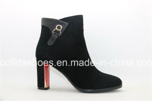 Sexy High Heels Women Leather Boots for Fashion Lady pictures & photos
