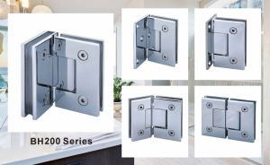90 Degree Glass to Wall Brass Wall Mount Shower Hinge pictures & photos