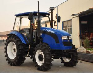 100HP 110HP Foton Lovol Farm Tractor with AC Cabin pictures & photos