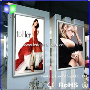 Aluminum Snap Frame Advertising Slim LED Light Box pictures & photos