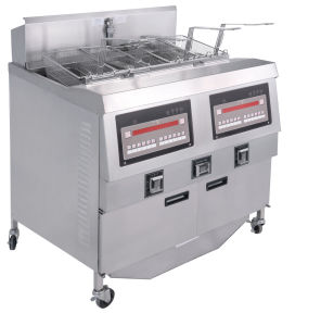 Temperature-Controlled Fryer/Open Fryer/Fry Kfc Henny Penny Kfc Open Fryer Chip Fryer/Hot Sale Commercial Continuous Potato Donut Open Fryer pictures & photos