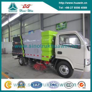 109HP 4X2 Vacuum Road Sweeper Truck pictures & photos