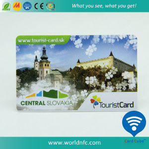 PVC Plastic RFID Printing Card with F08 Smart Card pictures & photos