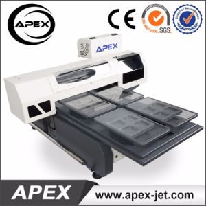 60*90cm Digtial Flatbed Direct to Garment Printer with 4 Trays for T-Shirt pictures & photos