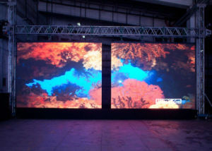 Outdoor P10 SMD RGB Advertising LED Display Screen
