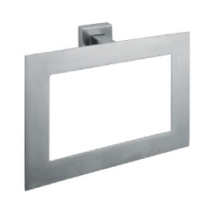 Square Shape SUS304 Stainless Steel Towel Ring (3304)